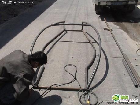 Ariel Atom from scratch in China