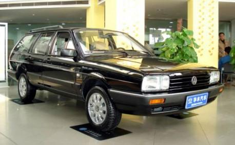 Volkswagen Santana Variant China