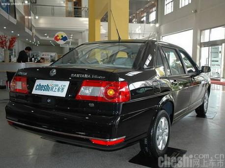 Volkswagen Santana Vista China