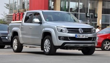 Hengtian Auto copies the Volkswagen Amarok in China