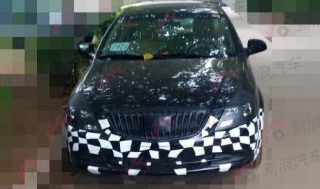 facelifted Buick Excelle loses some Camo in China