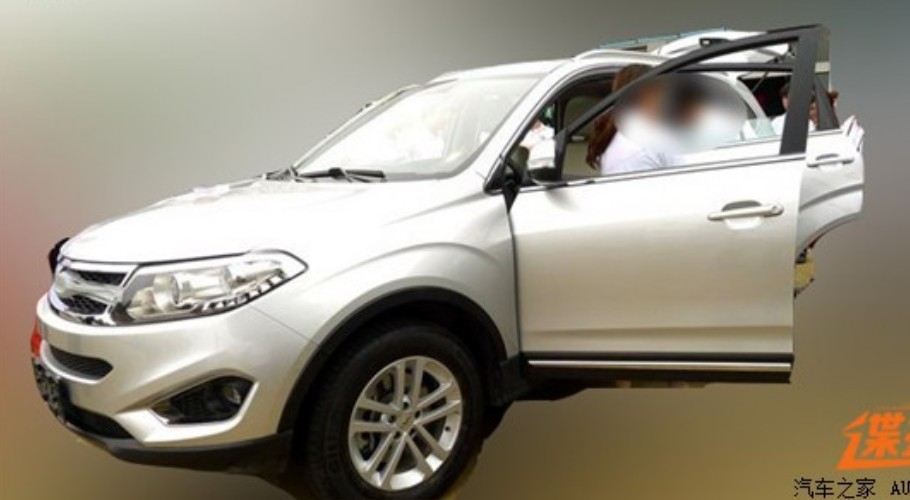 New Spy Shots of the Chery T15 SUV for China