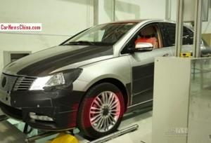 Spy Shots: Daimler-BYD Denza EV seen testing in the