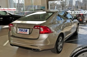 Volvo S60L arrives at the Dealer in China - CarNewsChina.com