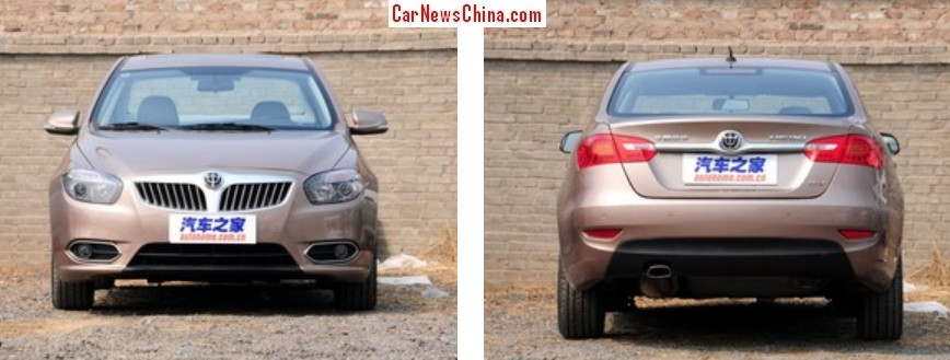 Spy Shots: new Brilliance Junjie FRV naked in China