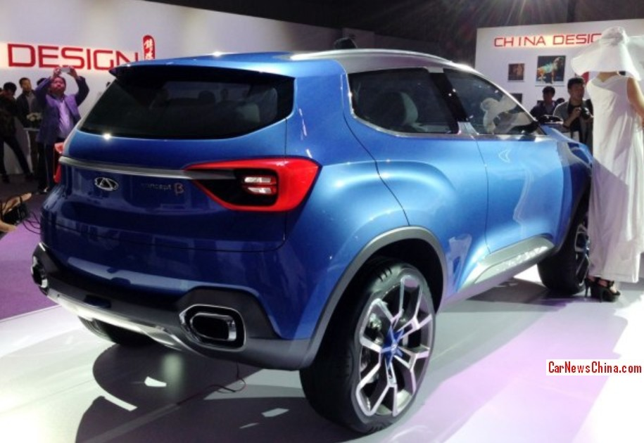 Chery Concept Beta launched in Beijing - CarNewsChina.com