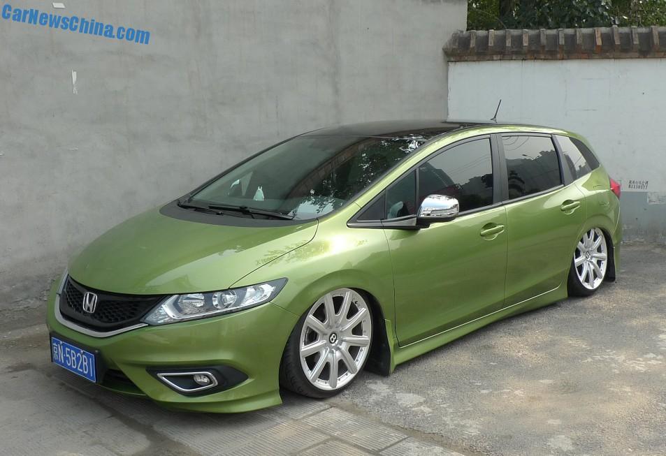 Honda Jade MPV is a low riding Bentley in China - CarNewsChina.com