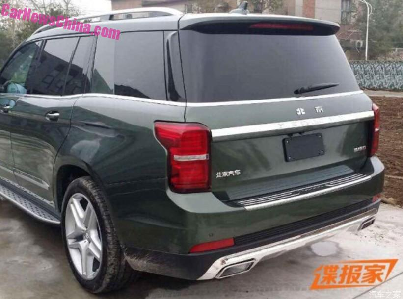 Spy Shots: Changan CX70 SUV is Naked from all Sides in