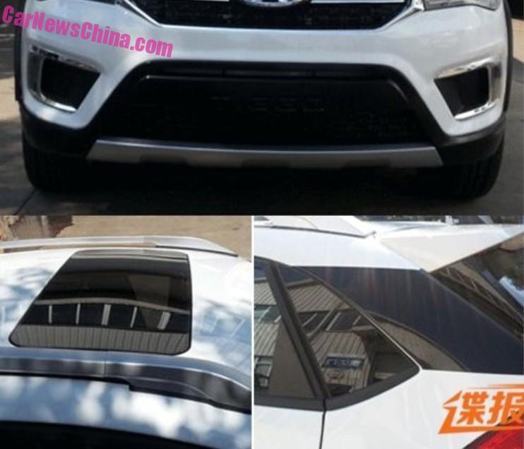Spy Shots: new Chery Tiggo 5 is Naked in Black in China