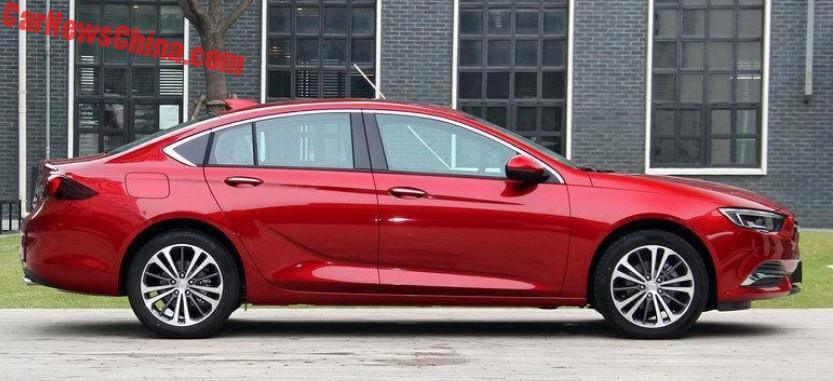 2018 Buick Regal Launched On The Chinese Car Market Carnewschina Com