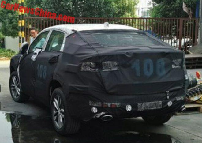 Geely SUV Coupe