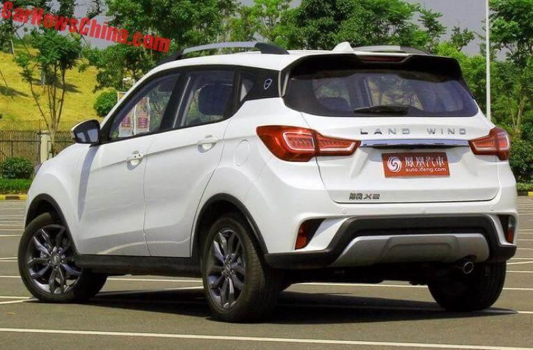 Landwind X2 Suv Hits The Chinese Car Market Carnewschina Com
