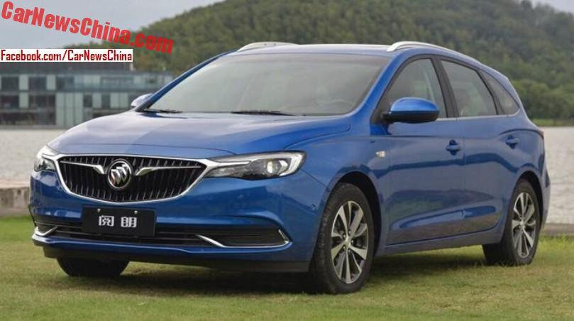 small wagons are good wagons: meet the new buick excelle gx for