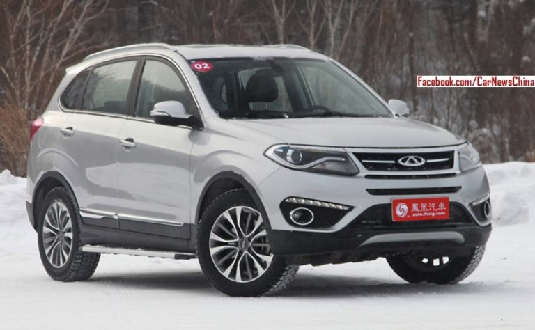 Spy Shots: Chery Is Working On A New Seven-seat SUV For