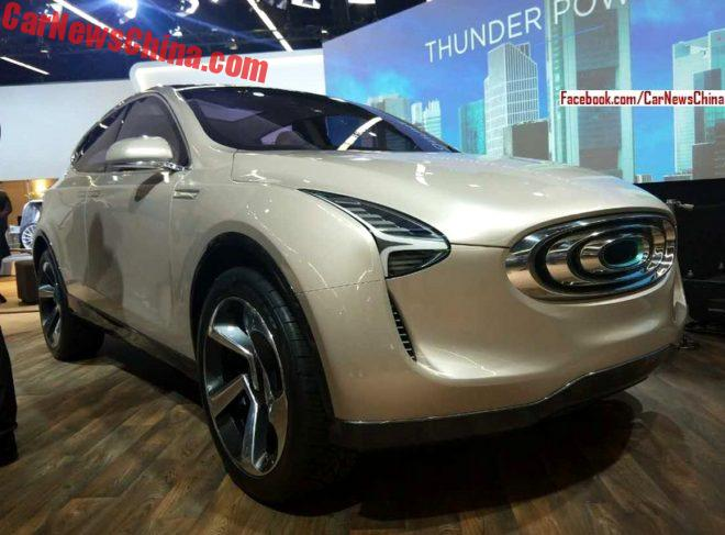 Thunderpower SUV debuts on the Frankfurt Motor Show
