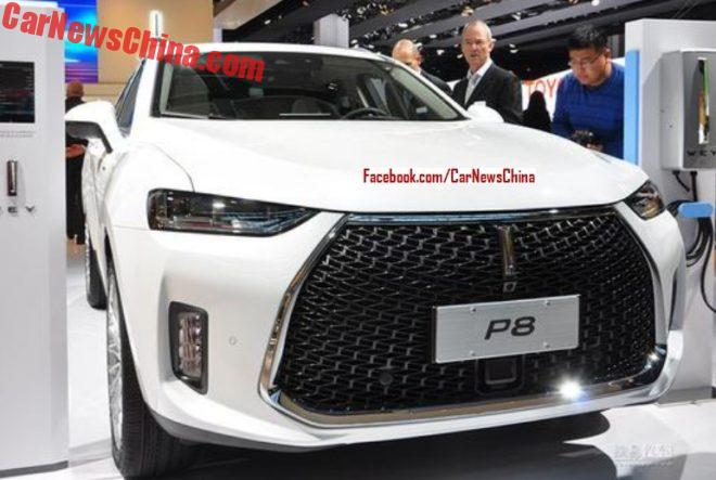 WEY P8 Hybrid Launched On The Frankfurt Auto Show