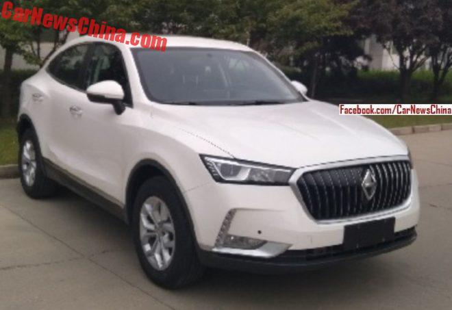 Borgward Bx7 Price >> New Photos Of The Upcoming Borgward BX6 - CarNewsChina.com