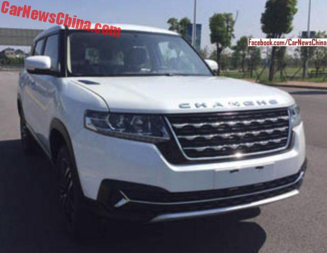 Changhe Auto To Launch Large SUV In China