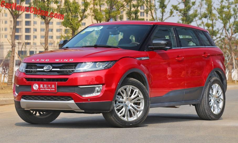 A Little Less Evoque Facelift For The Landwind X7 Suv In