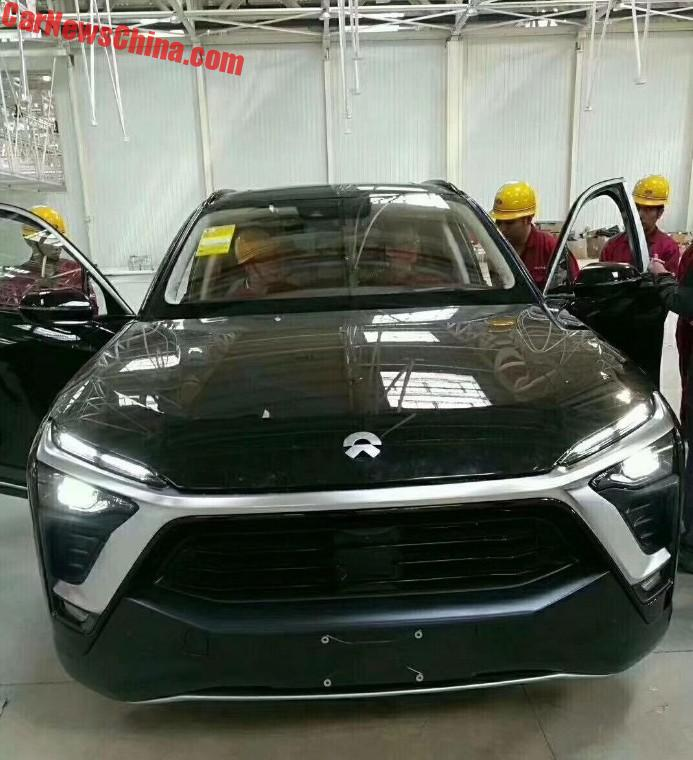 The NextEV NIO ES8 Electric SUV Is Almost Ready For China