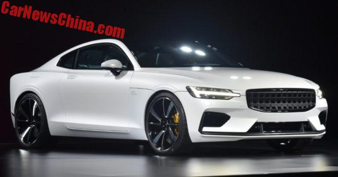 Volvo Launches New Polestar Brand With Concept Coupe
