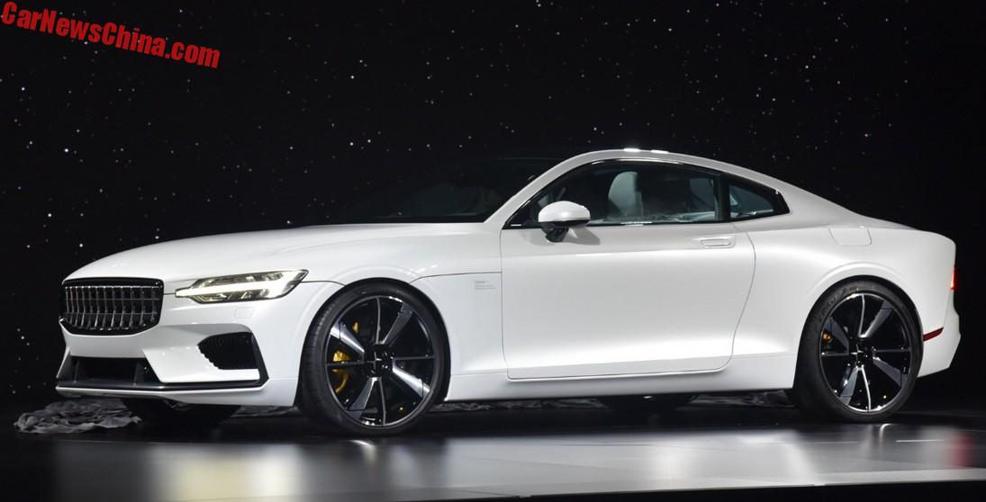Volvo S90 Lease >> Volvo Launches New Polestar Brand With Concept Coupe - CarNewsChina.com