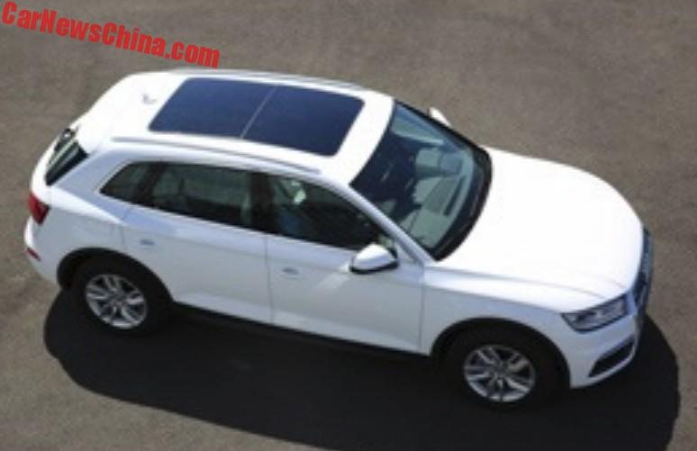 This Is The Audi QL Longwheelbase SUV For China CarNewsChinacom - Audi 3 suv