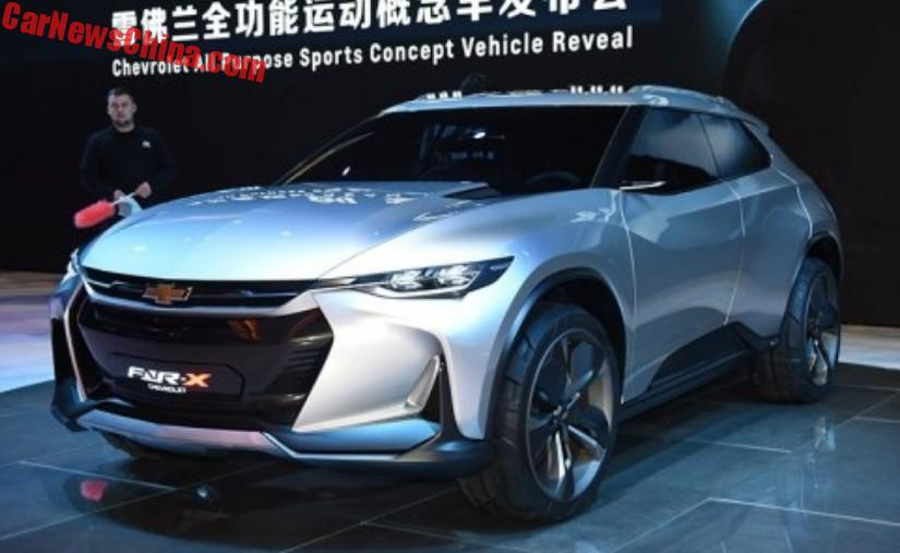 Spy Shots: New Chevrolet Compact SUV Testing In China ...