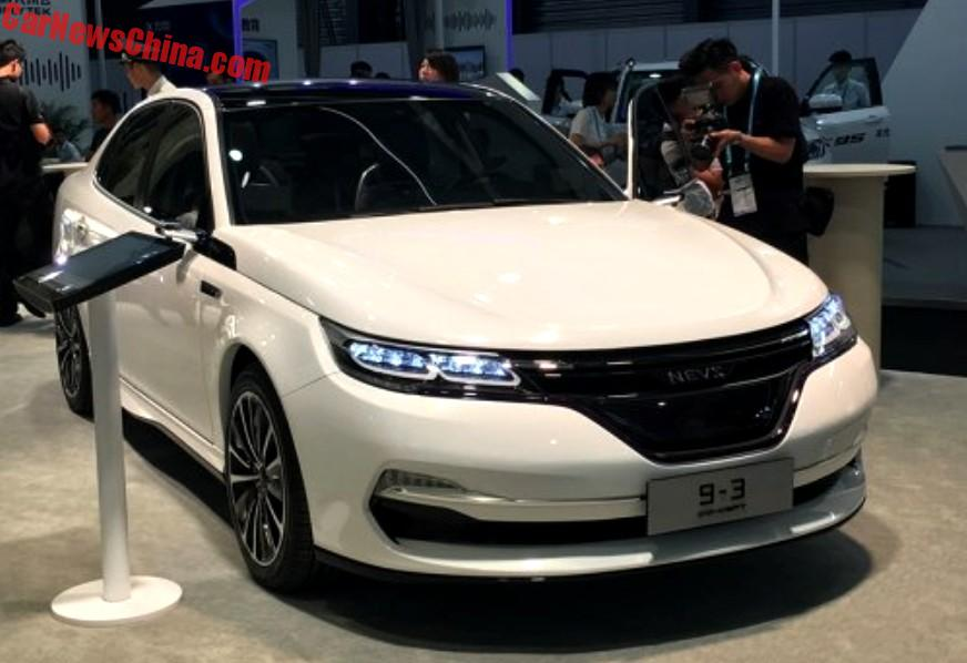 Back In June Nevs Brought This Concept To The Ces Shanghai With A Lot More New Design Especially Around Front Which Made Car Almost Look Modern