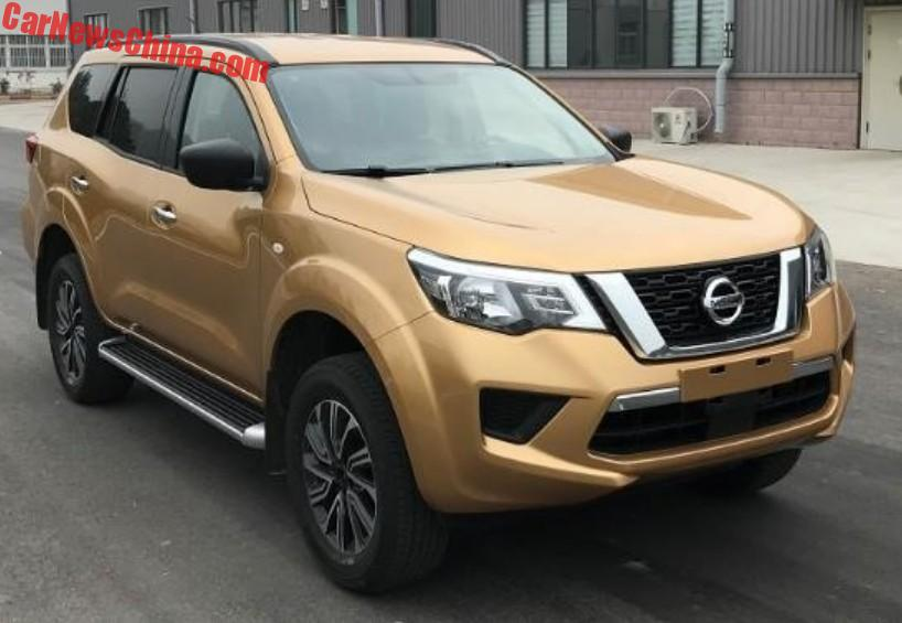 this is the 2018 nissan terra suv for china. Black Bedroom Furniture Sets. Home Design Ideas