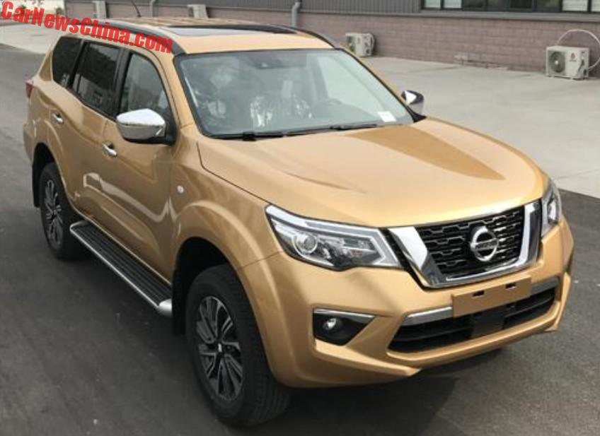 This Is The 2018 Nissan Terra SUV For China