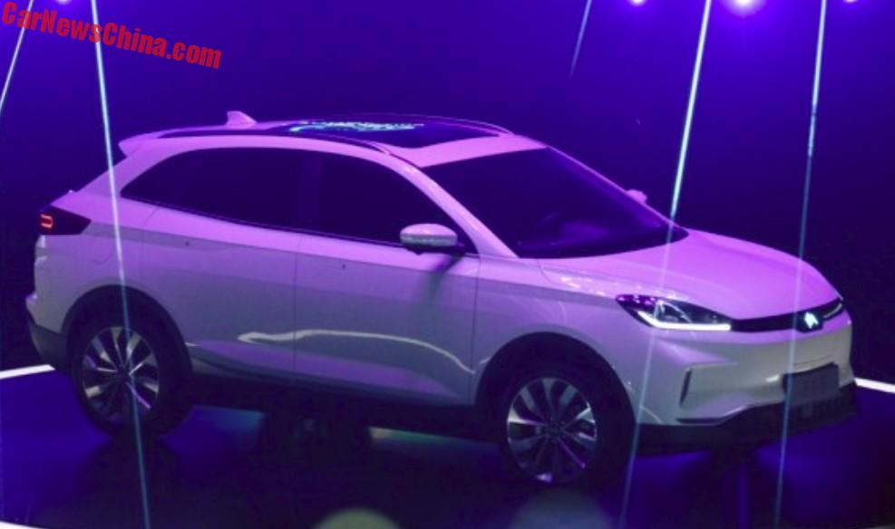 First Photos Of The Weltmeister Ex5 Electric Suv For China