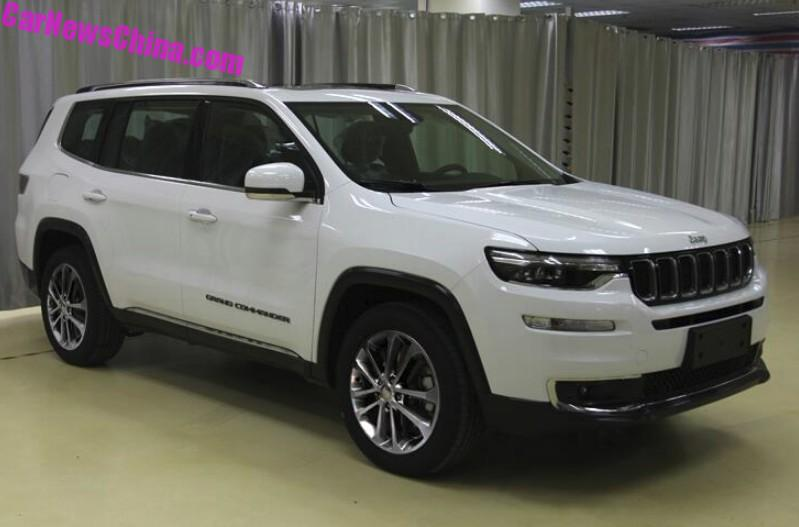 This Is The New Jeep Grand Commander Seven Seat Suv For