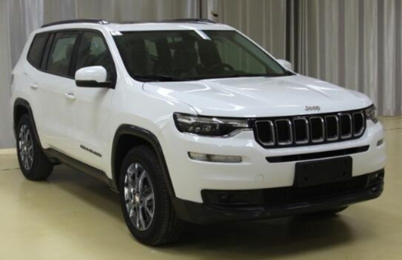 this is the new jeep grand commander seven seat suv for china. Black Bedroom Furniture Sets. Home Design Ideas