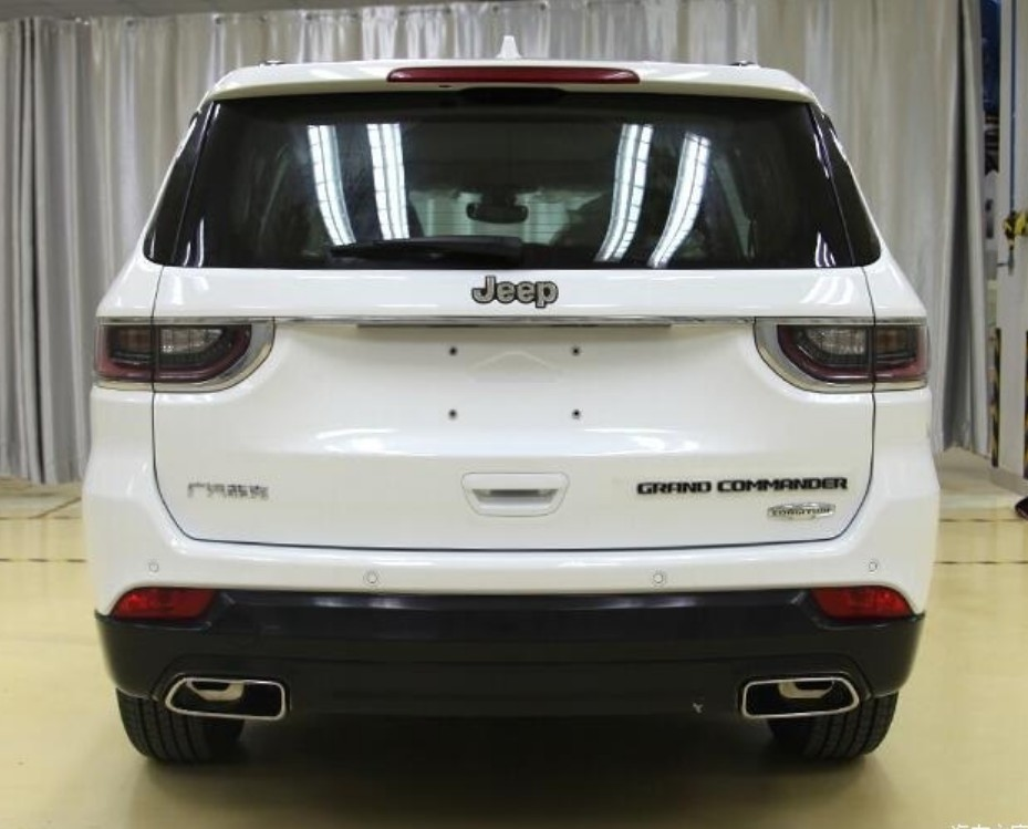 This Is The New Jeep Grand Commander Seven-seat SUV For China ...