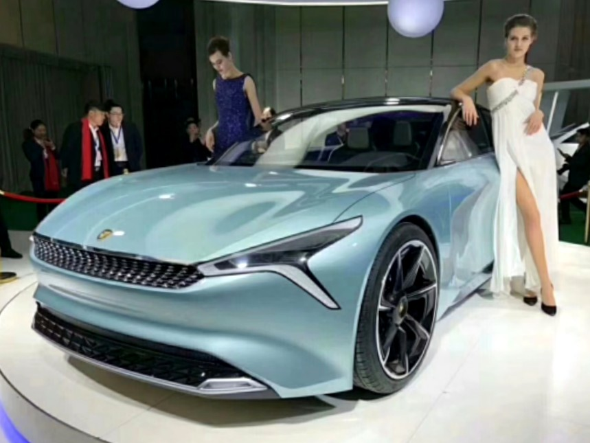 New Car Brand From China: LvChi Auto Launches With Spectacular ...