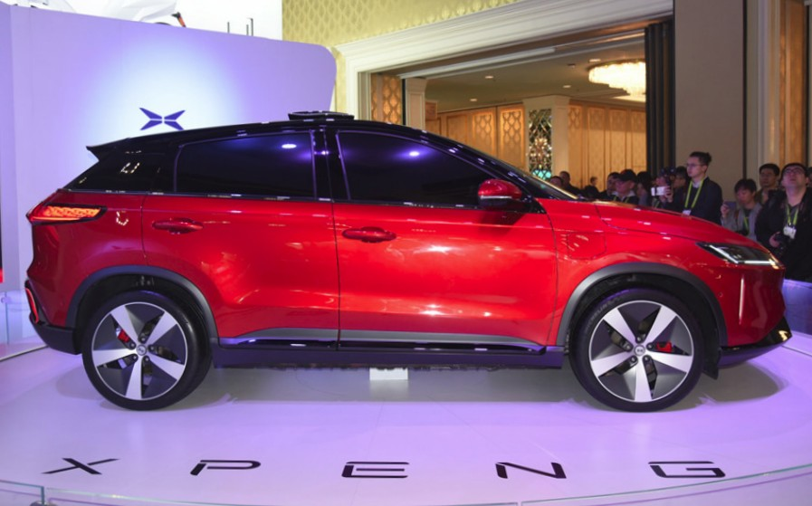 XPeng Electric SUV Goes To Vegas, With A New Name