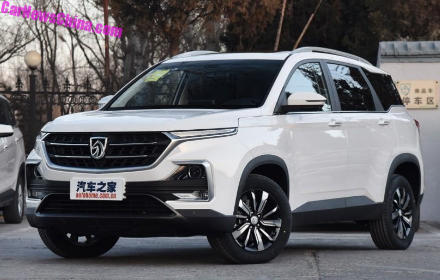 2018 - [Baojun/Wuling/Chevrolet/MG] 530/Almaz/Captiva/Hector Baojun-530-1