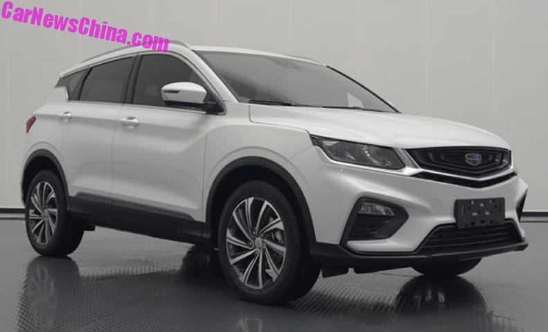 This Is The New Geely Sx11 Suv For China Carnewschina Com