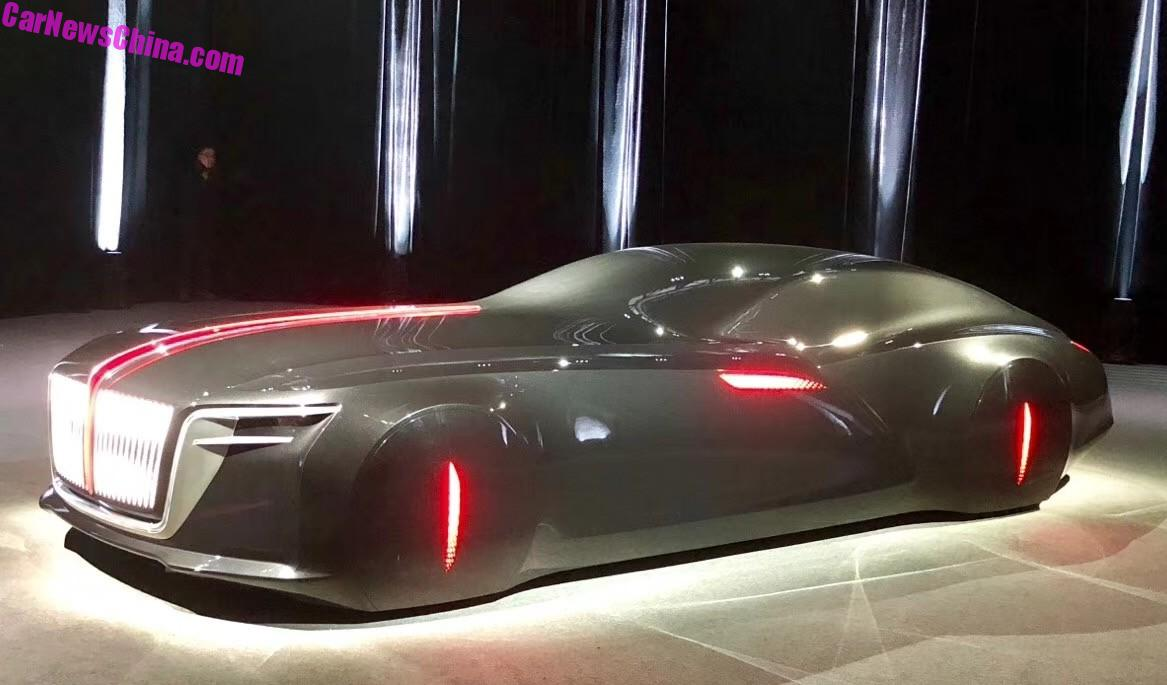 The Non-Existing Hongqi Concept Car Exists Now And It Is ...
