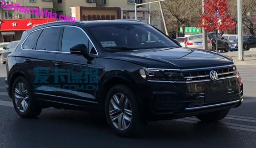 Spy Shots 2019 Volkswagen Touareg Is In China