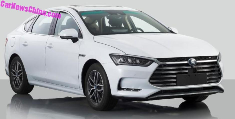 The New BYD Qin Sedan Is A Beauty And A Hybrid - CarNewsChina.com
