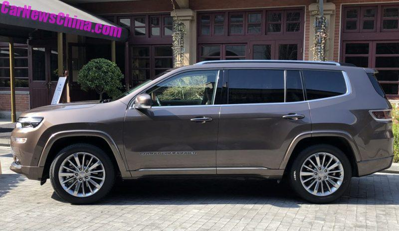 Jeep Grand Commander Is Out In The Field In China ...