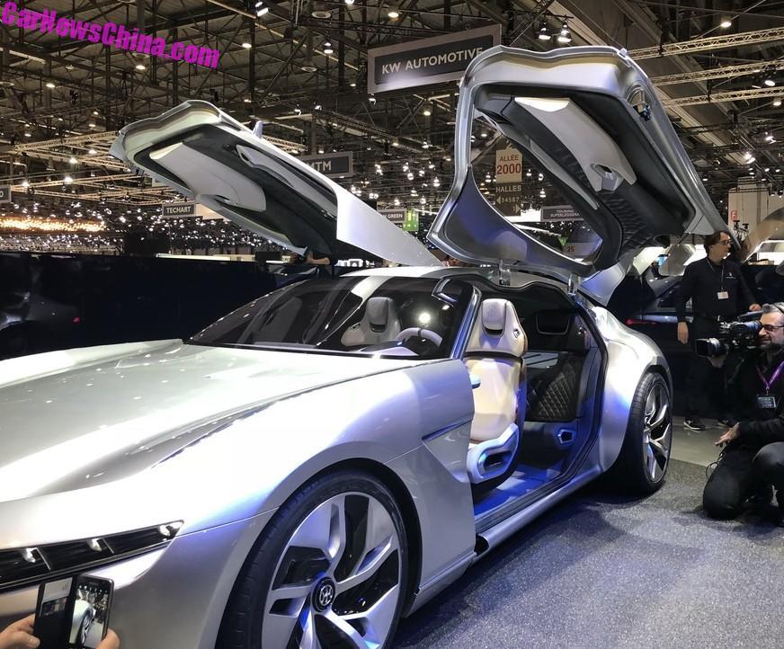 Hybrid Kinetic GT Is A Four-Seat Hybrid Sportsedan That Goes From 0