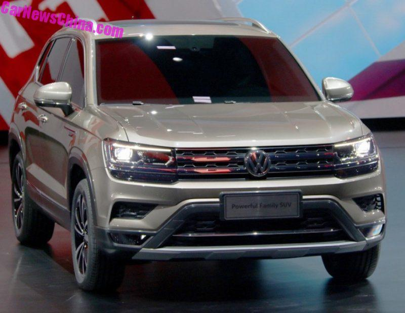 volkswagen launches two new suvs in china and one is called the powerful family suv no. Black Bedroom Furniture Sets. Home Design Ideas