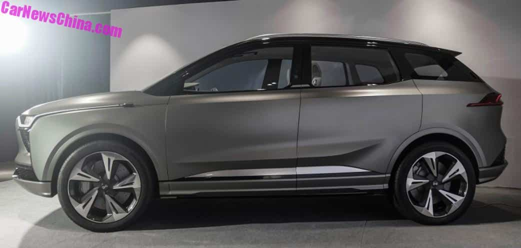 Aiways U5 Ion Electric Suv Unveiled In China