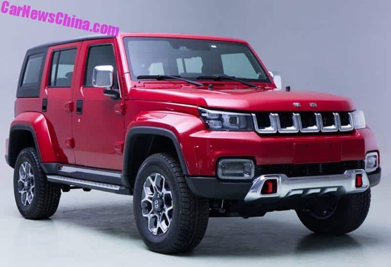 Beijing Auto BJ40L