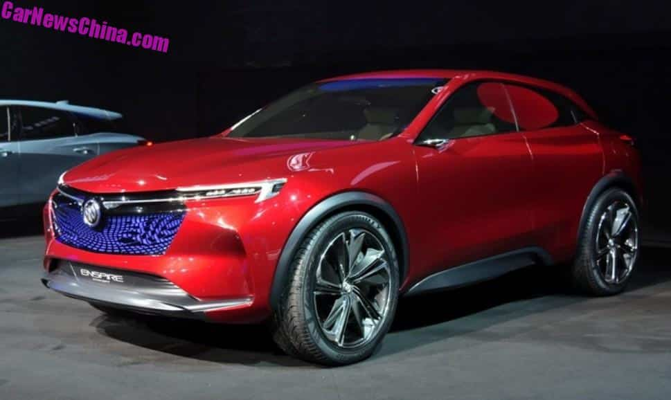 Buick Enspire Electric Crossover Concept Unveiled In China ...