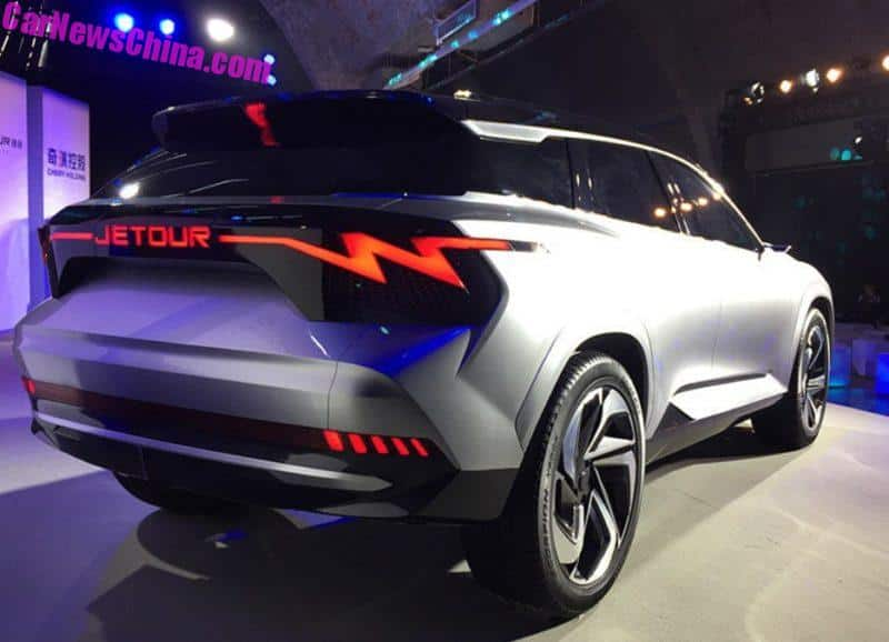 Jetour X Electric Concept Car Unveiled In Beijing