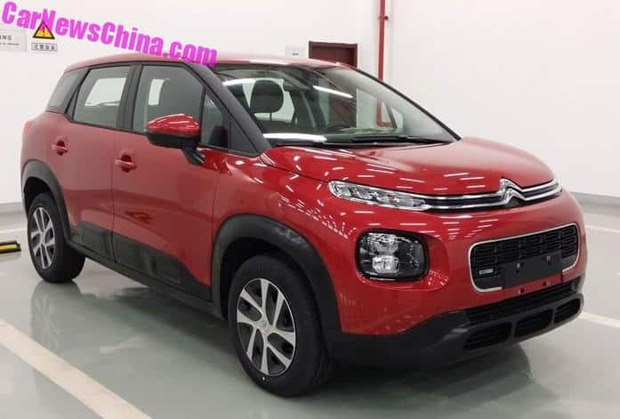 this is the new citroen c4 aircross for china. Black Bedroom Furniture Sets. Home Design Ideas